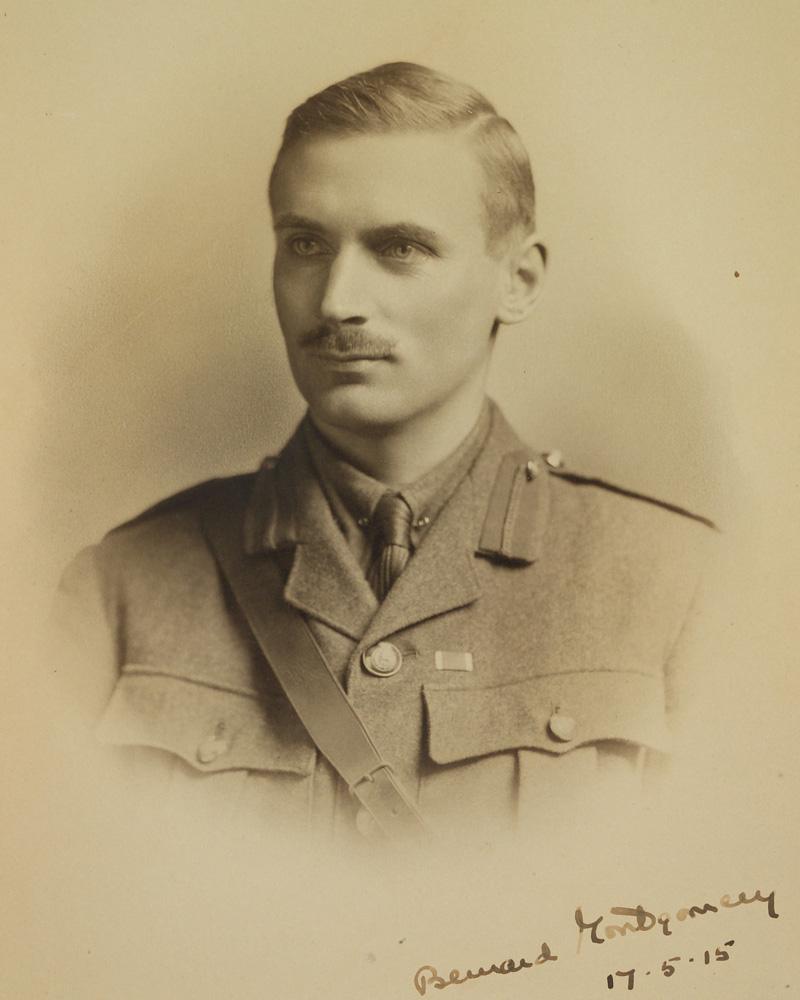 Major Bernard Law Montgomery in 1915