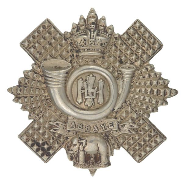 Other ranks' glengarry badge, The Highland Light Infantry, c1900
