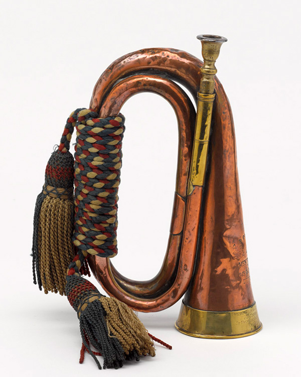 Horn used by Trumpet Major Henry-Joy to sound the Charge of the Heavy Brigade, 1854