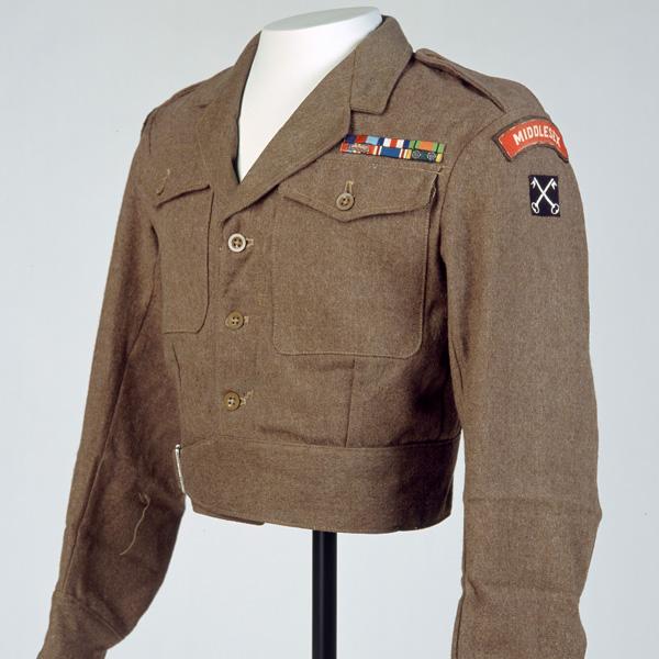 Captain Alfred Rowe's battledress blouse