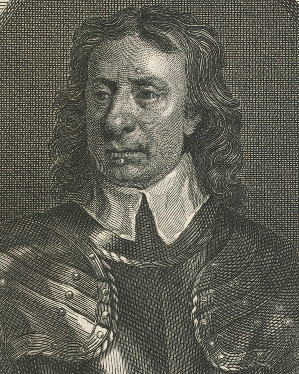 Oliver Cromwell commanded the Parliamentary cavalry at Naseby