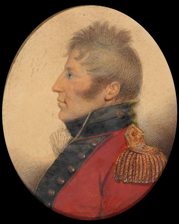 Miniature of Sir Charles McCarthy, 1812