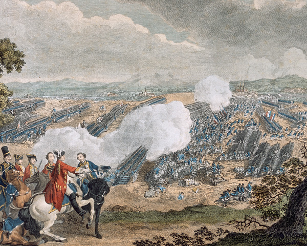 The Battle of Minden, 1759