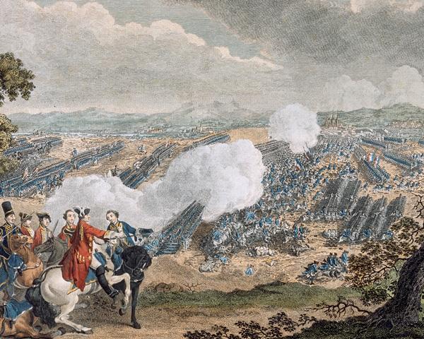 The Battle of Minden, 1 August 1759