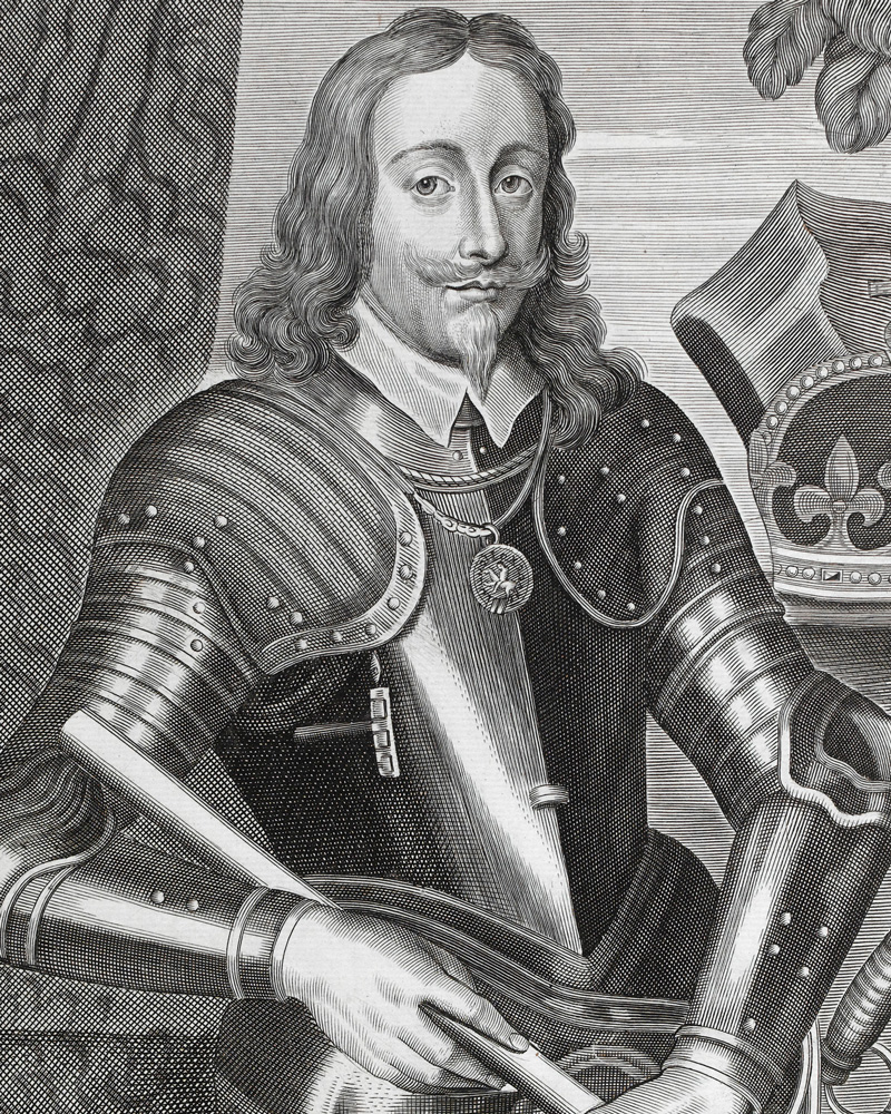 King Charles I in armour, 1660