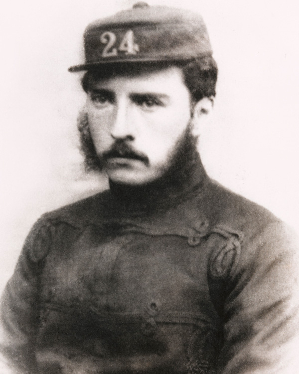 The British force consisted of 'B' Company, 2nd Battalion, 24th (2nd Warwickshire) Regiment, under Lieutenant Gonville Bromhead (1845-91)