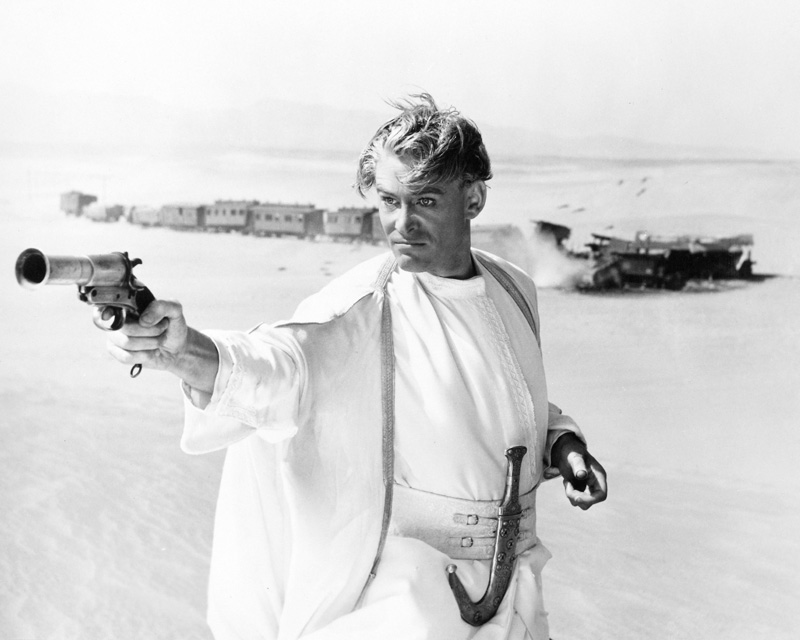 Peter OToole as Lawrence in Lawrence of Arabia (1962) © Columbia Pictures