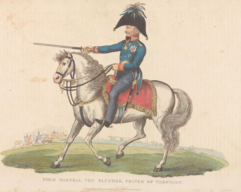 Prussian Commander Field Marshal Gebhard von Blücher