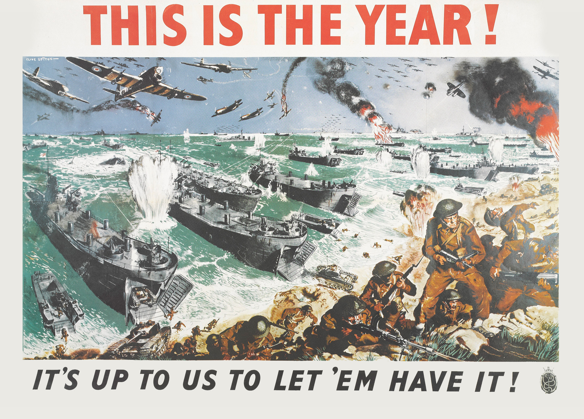 This is the year! Poster, 1944