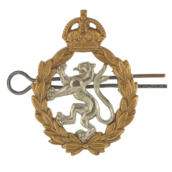 Other ranks' cap badge, Women's Royal Army Corps, 1949-1952