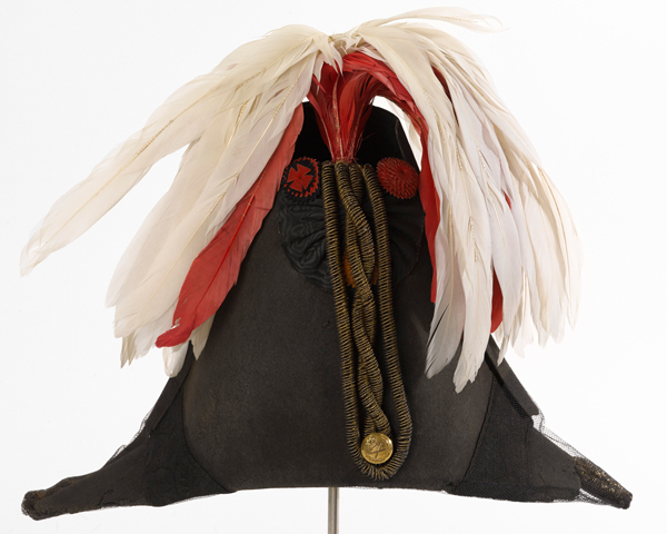 Cocked hat worn by Wellington, 1846