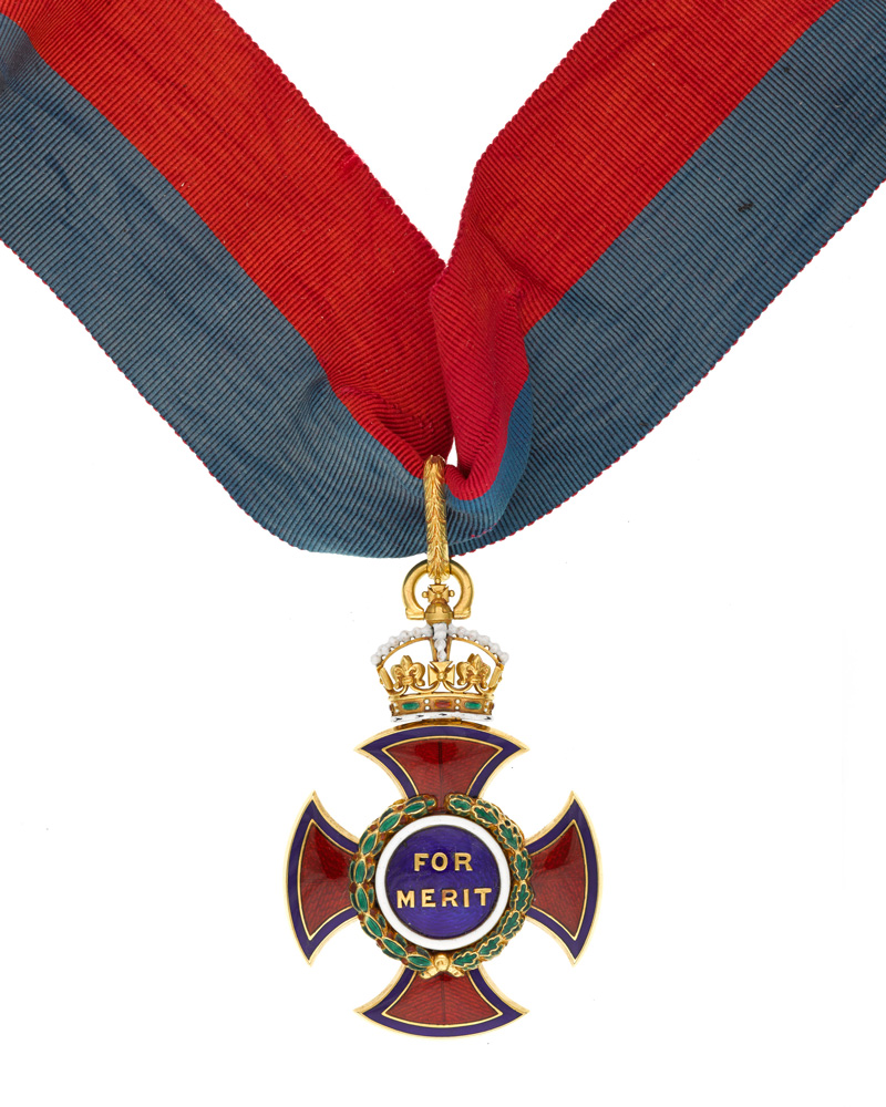 Order of Merit awarded to Florence Nightingale in 1907