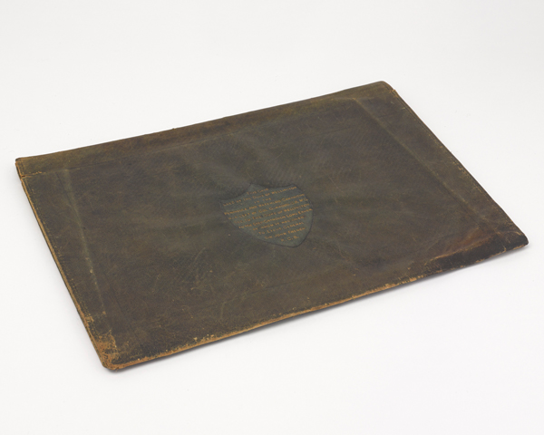Wellington used this case to carry his maps, orders and official documents during the Peninsular War (1808-1814)