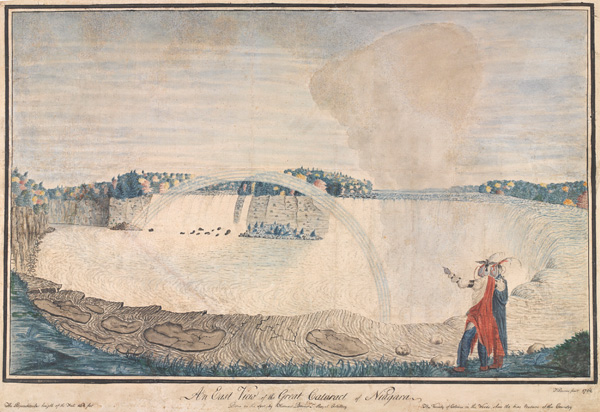 An East View of the Great Cataract of Niagara, 1762