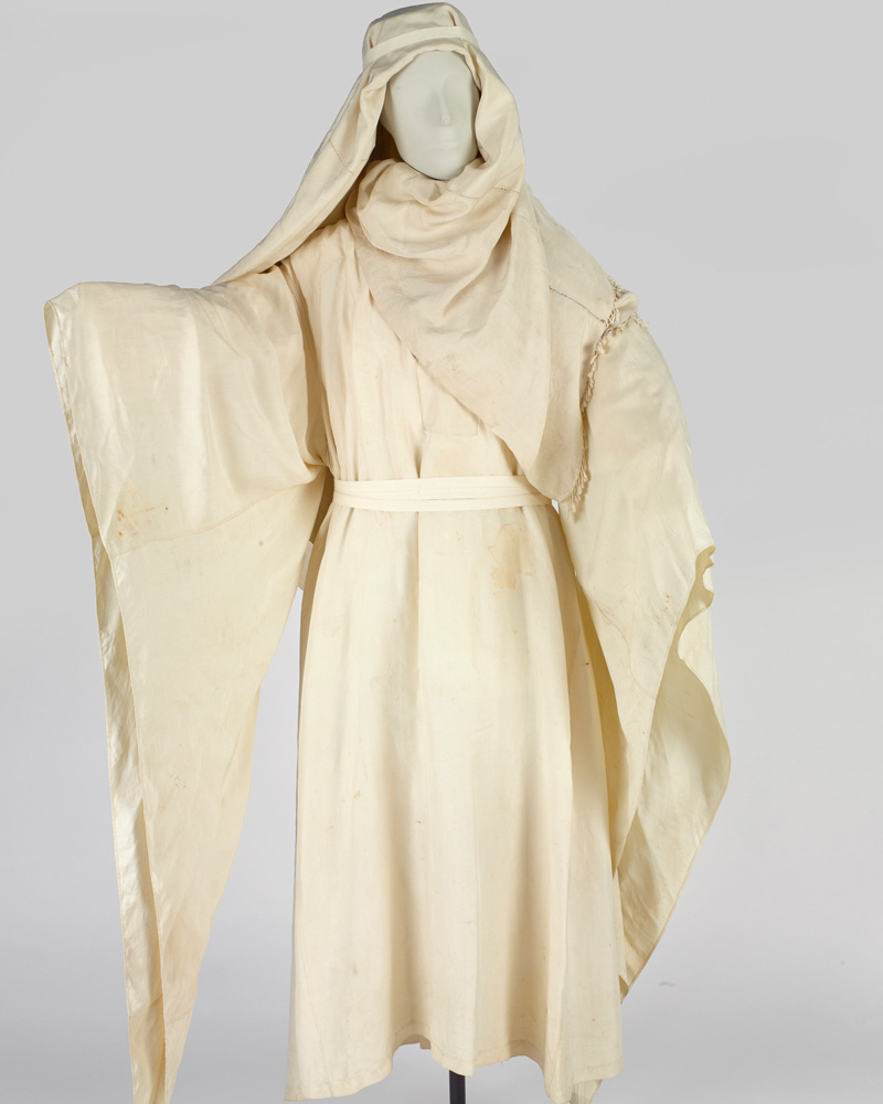Silk robe worn by TE Lawrence, c1916