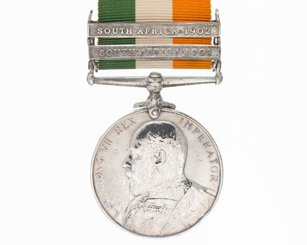 Jimson's King's South Africa Medal 1901-02