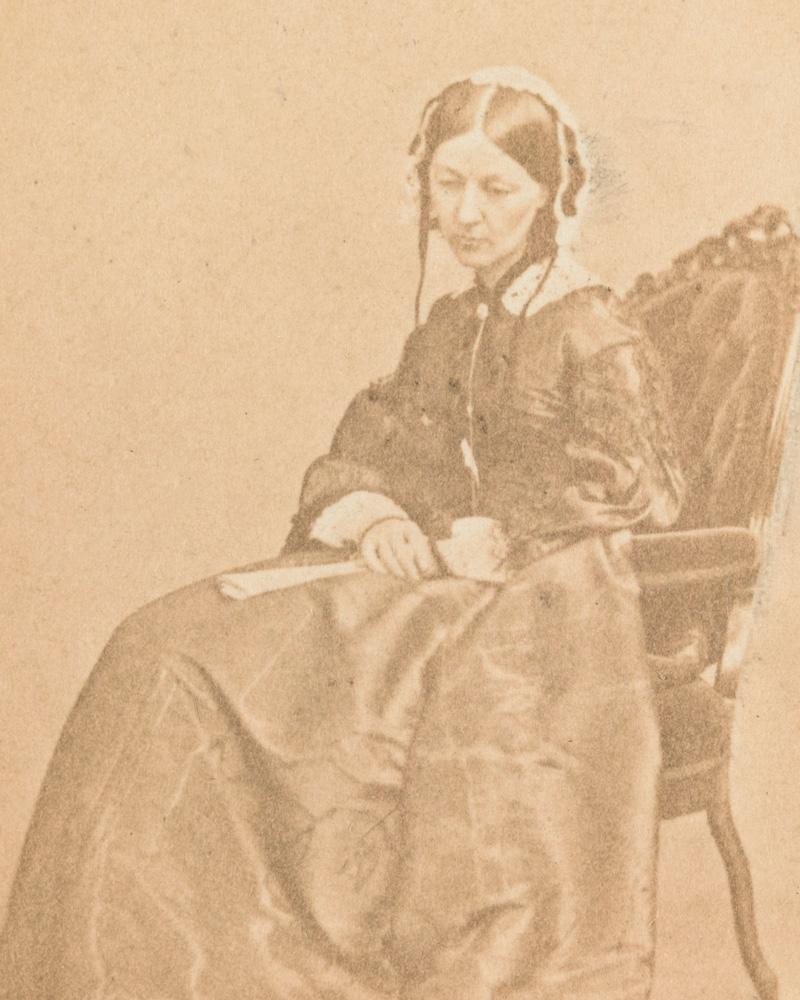 Florence Nightingale, 1860