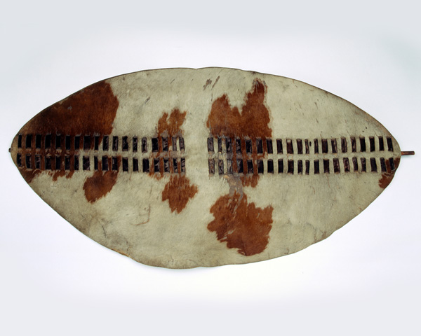 Zulu 'ishilunga' oxhide shield