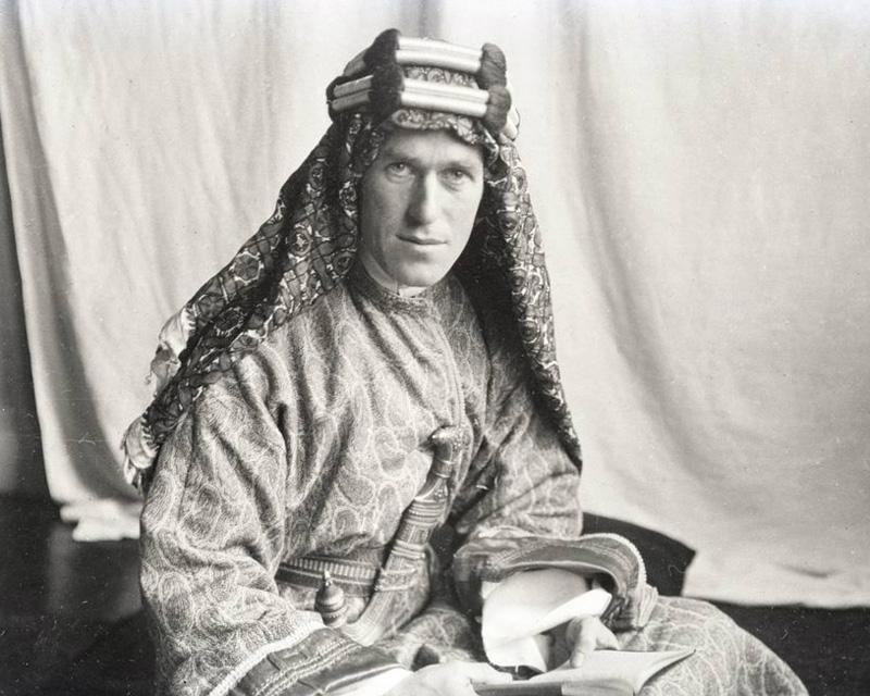 Thomas Edward Lawrence in 1919