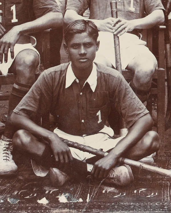 Dhyan Chand (1905-1979) was a member of the Indian Army and one of India's greatest ever hockey players.