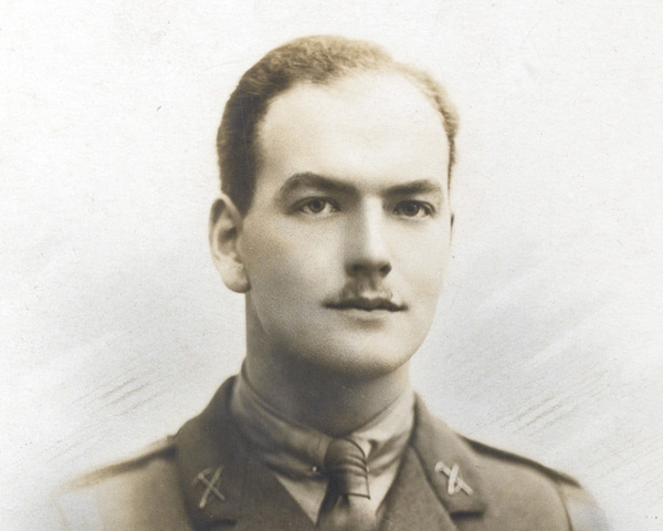 Second Lieutenant Dougas McKie, The Northumberland Fusiliers, 1916 Second Lieutenant Dougas McKie, The Northumberland Fusiliers, 1916