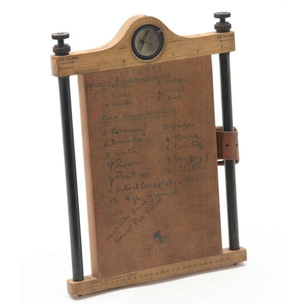 Cavalry sketching board, 1913