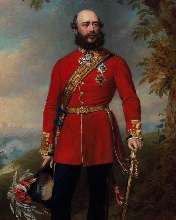 Field Marshal George William Frederick Charles, 2nd Duke of Cambridge, Commander-in-Chief of the Army, c1862