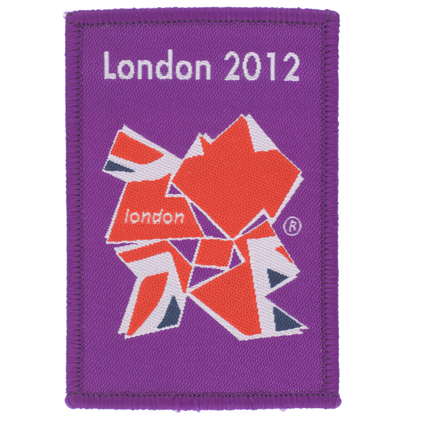 Shoulder badge worn by soldiers during the London Olympic Games, 2012