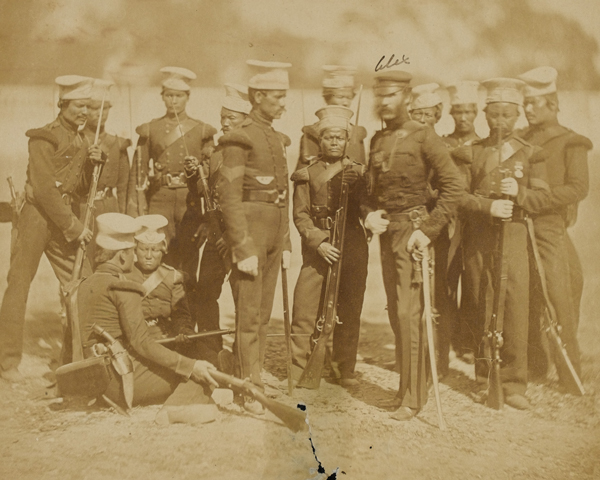 The Nusseree Battalion, 1857