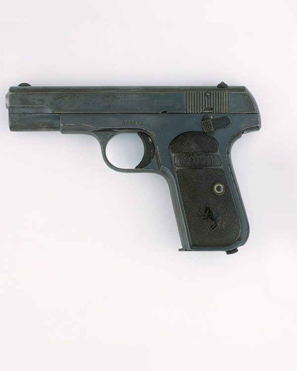 Colt .32 inch self-loading pistol used by General Sir Gerald Templer in Malaya, 1952-1954