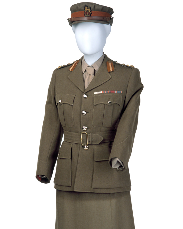 Princess Elizabeth's uniform of Brigadier in the Women's Royal Army Corps, c1949