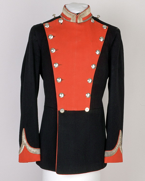 Full dress tunic worn by Major Kenneth O'Brien Harding, 13th Duke of Connaught's Lancers (Watson's Horse), 1915-1921