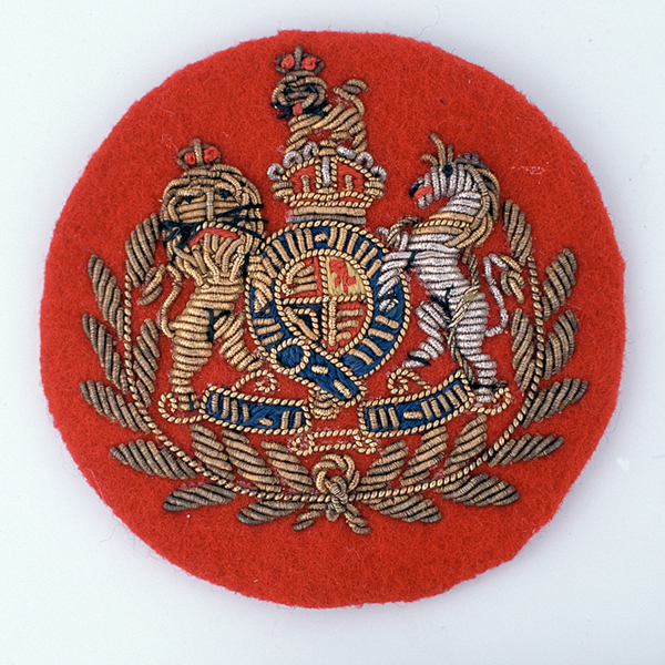 John Lennon wore a Warrant Officer's 1st Class patch similar to this one on his costume