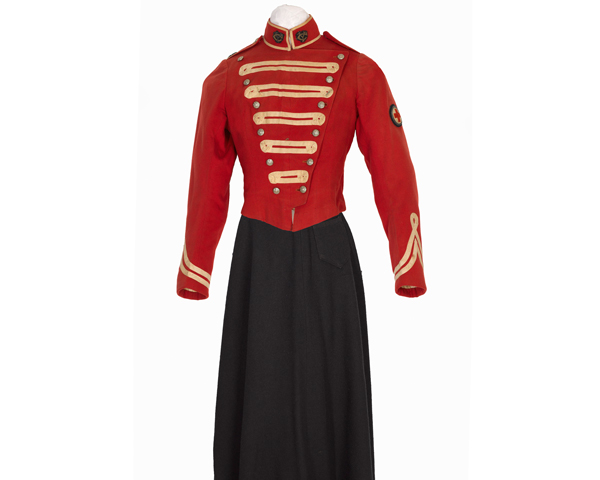 FANY uniform, c1909
