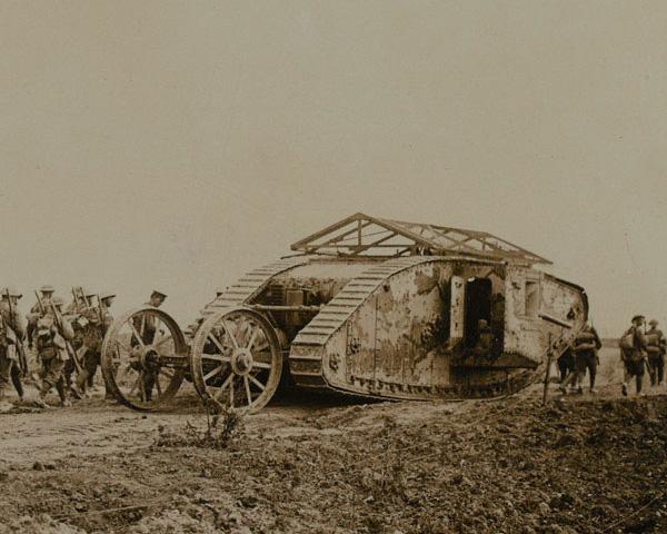 Mark I tank, 1916
