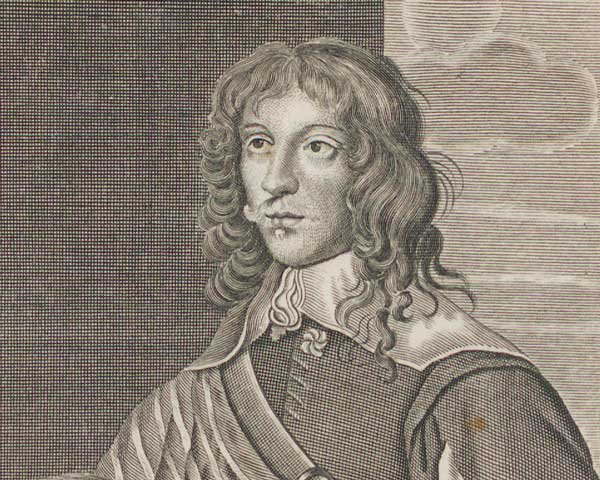 Lord George Goring who commanded the Royalist horse during the Battle of Lostwithiel
