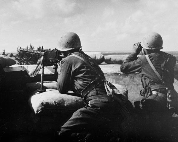 Turkish peacekeeping troops near Famagusta, January 1964