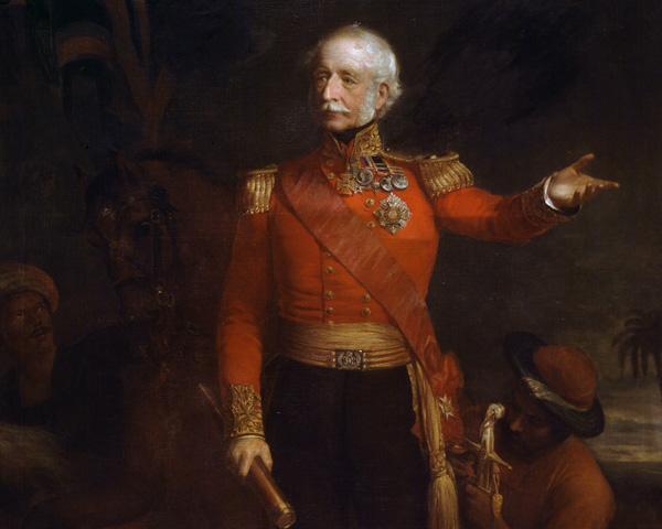 Lieutenant-General Hugh Gough, 1850