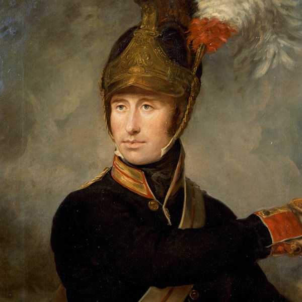 Captain William Tyrwhitt-Drake of the Royal Horse Guards took part in the charge against the French centre at Waterloo