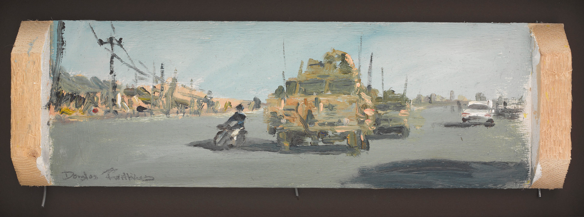 Kabul Street Scene, Afghanistan, by Sergeant Major Douglas Farthing MBE, 2012