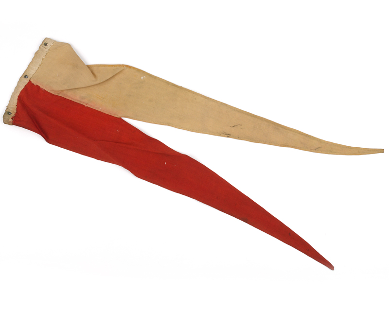 Pennant from a Lance carried at the battle of Omdurman, 1879