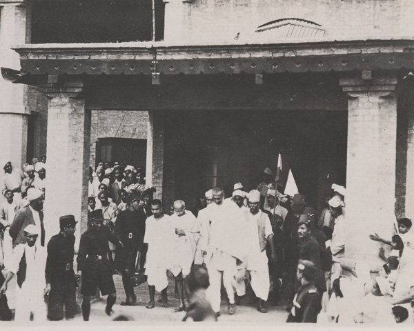 Mahatma Gandhi and other members of the Indian National Congress, 1939
