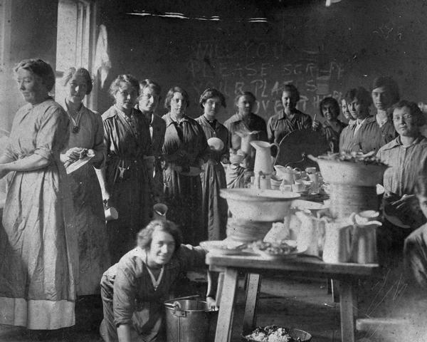 Members of the Women's Legion, 1916