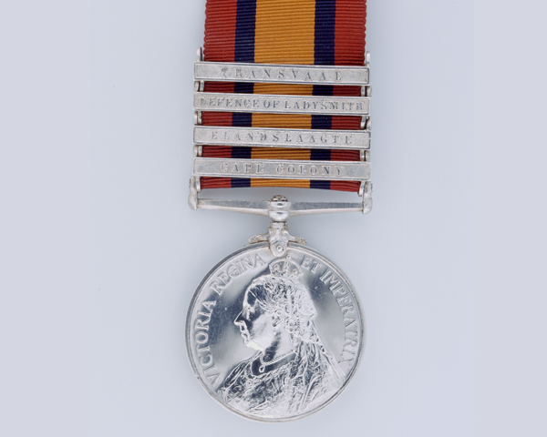 Queen's South Africa Medal belonging to Trooper John Pike of the 1st Imperial Light Horse, 1899