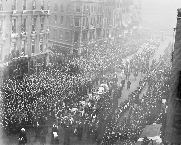Funeral procession of Queen Victoria in London, 1901