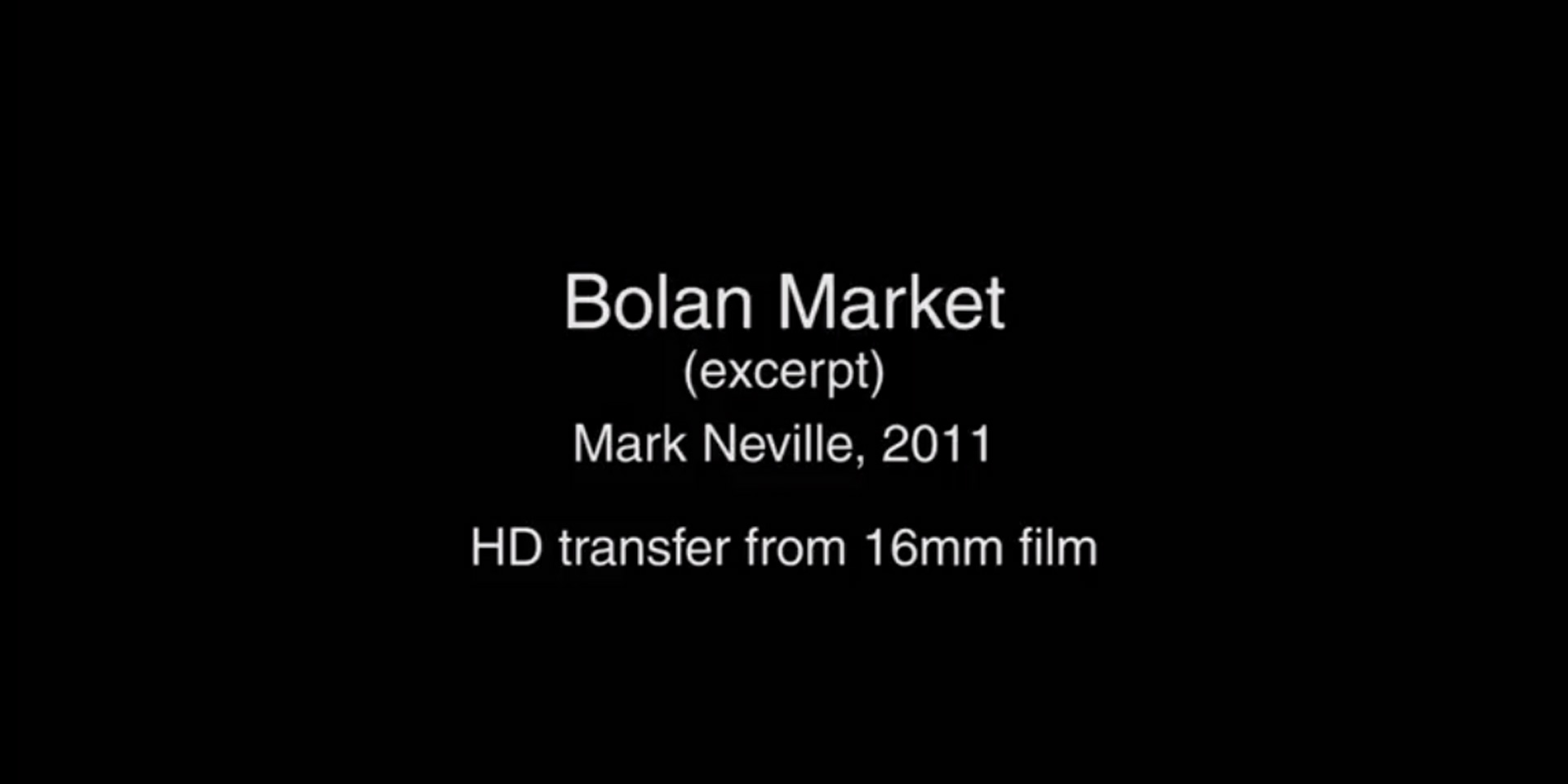 Excerpt from 'Bolan Market', by Mark Neville, 2011