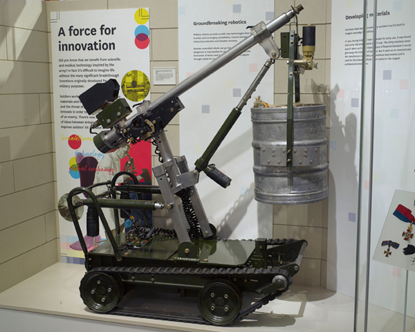 Wheelbarrow Mk VIIa, Explosive Ordnance Disposal, 1983