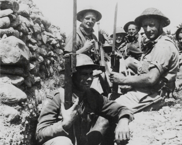 Commonwealth troops in Greece, 1941