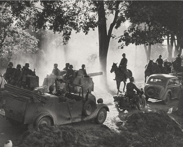 The German advance into Poland, 1939
