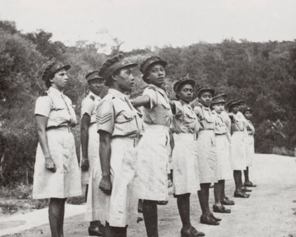 Members of the West Indian ATS, 1943